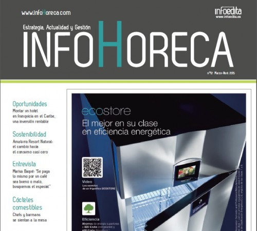 Fantastic article in Infohoreca Magazine