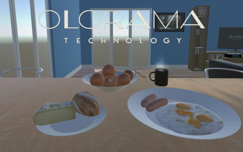Prepare your breakfast and smell the ingredients thanks to Olorama Technology