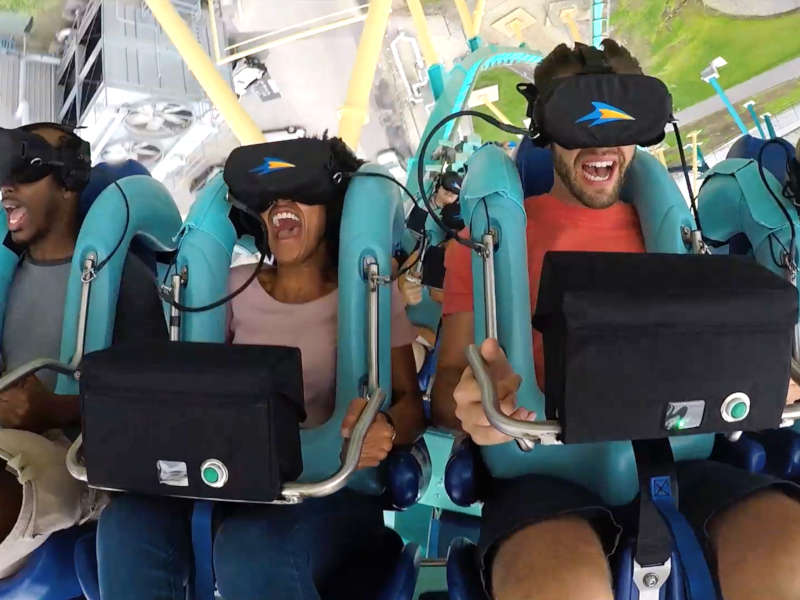 VR amusement parks